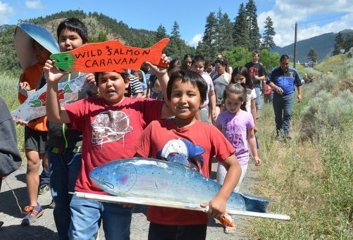 Wild Salmon Caravan Photo by Murray Bush Flux Photos
