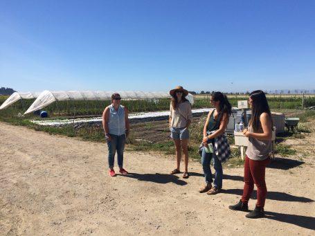 SFPC touring Tsawwassen Farm School
