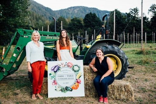 Farm to Table fundraiser at Squamish Valley Hop Farm